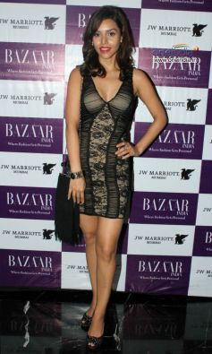 Debi Dutta at Harper's Bazzar Bash