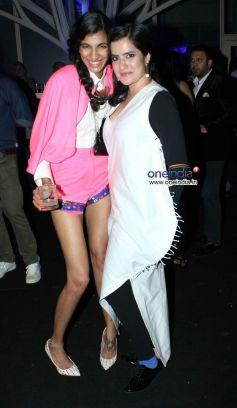 Anushka Manchanda and Sona Mohapatra