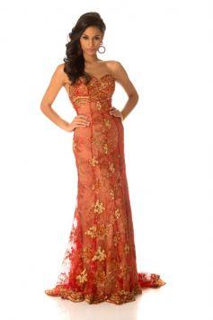 Camila Solorzano Ayusa at Miss Universe 2012 Contestants