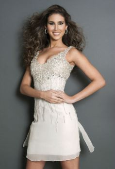 Liza Nerelyn Helder at Miss Universe 2012 Contestants