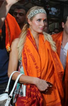 Paris Hilton visited Siddhivinayak Temple