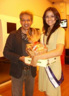 Shilpa Singh is a Miss India Universe 2012.