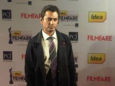 Nawazuddin Siddiqui at Filmfare Awards 2013