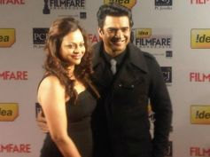 Madahavan at Filmfare Awards 2013