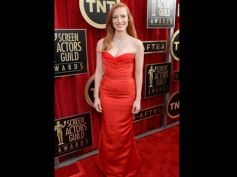 Jessica Chastin  At SAG Awards 2013
