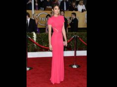 Nina Dobrev  at SAG Awards 2013