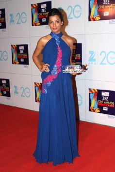 Mugdha Godse at Zee Cine Awards 2013