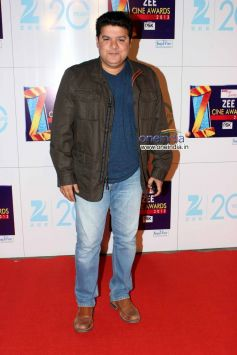 Sajid Khan at Zee Cine Awards 2013