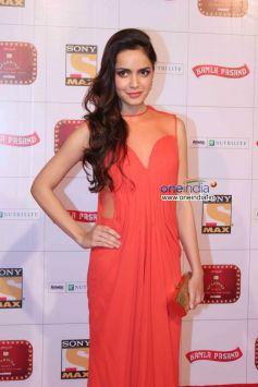 Shazahn Padamsee at Stardust Awards 2013