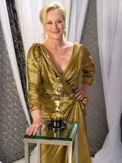 Meryl Streep In Lavin Dress 2012