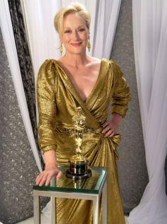 Meryl Streep In Lavin Dress 2012