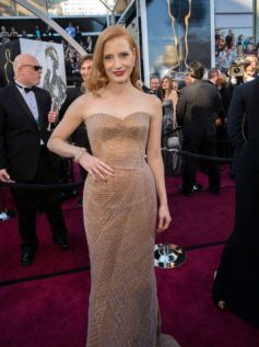 Jessica Chastain  at  2013 Oscar Awards  Function