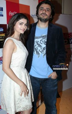 Prachi Desai and Goldie Behl