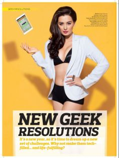Evelyn Sharma's Stuff Magazine Covershoot