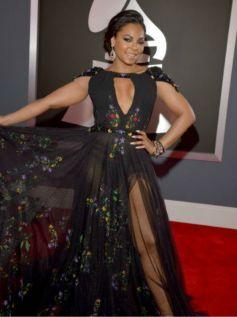 Ashanti at 55th Annual GRAMMY Awards
