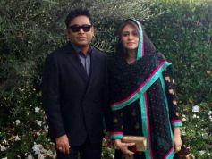 A R. Rahman, Saira Banu At Grammy Awards 2013