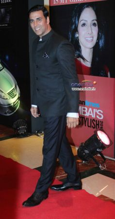 Akshay Kumar at HT Mumbai's Most Stylish Awards 2013