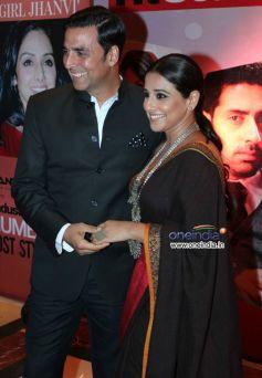 Akshay Kumar and Vidya Balan