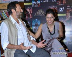 Kajol  And Shekhar Kapur at Book Launch