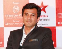 Vikas Khanna at Meet and dine session of MasterChef India