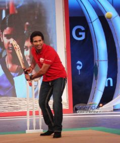 Sachin Tendulkar at NDTV Support My School campaign