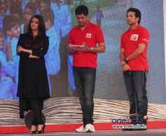 Aishwarya Rai and Sachin Tendulkar