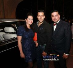 Salman Khan at Splash Fashion Show in Dubai