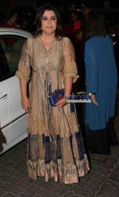 Farah Khan at Sanjay Leela Bhansali's 50th Birthday Celebration