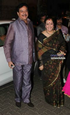 Shatrughan Sinha and Poonam Singh