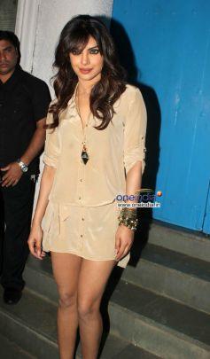 Priyanka Chopra  at Sanjay Leela Bhansali's  Birthday Bash