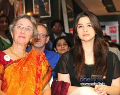 Annabel Mehta & Sara Tendulkar at the Raymond Shop