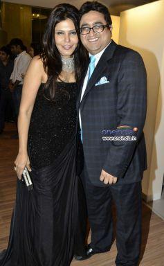 Nisha Jamvwal and Pradeep Hirani