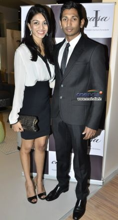Priyanka Gupta and Sharan Parekh