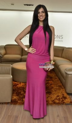 Nishka Lulla at Champagne evening at Icasa