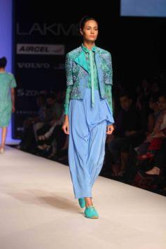 Ilk by Shikha and Vinita Show at LFW Summer Resort 2013