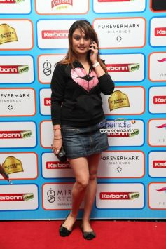 Sonia Agarwa at  Karbonn Smart CCL Glam Night