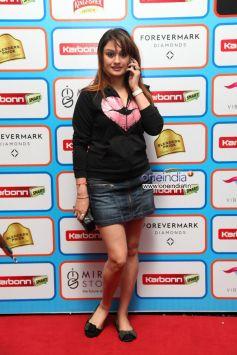 Sonia Agarwa at  Karbonn Smart CCL Glam Night