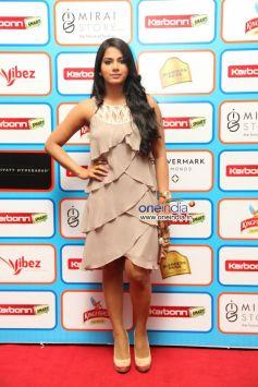 Karbonn Smart at  CCL Glam Night - Hyderabad