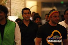 Sohil Khan at CCL Glam Night - Hyderabad