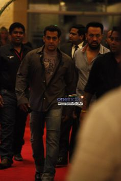 Salman Khan at  CCL Glam Night