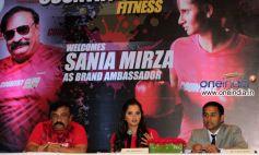 Sania Mirza and Rajiv reddy