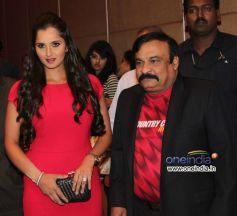 Rajiv reddy and Sania Mirza