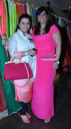 Celebs at Nazakat Show Room