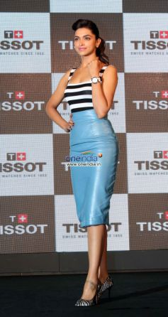 Deepika Padukone at Launch of Tissot Racing Touch Watches
