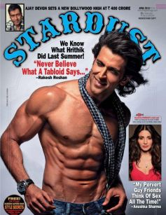 Ruthik Roshan on  Magazine Cover Pages