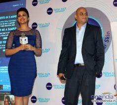 Parineeti Chopra Launch Nivea Total Face Clean Up cream