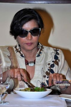 Shabana Azmi at Rohini Dey's Chef Search