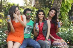 Sachiin Joshi's Energy Drink Photoshoot
