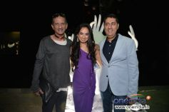 James ferriera with kairan and sujnil datwani of gehna