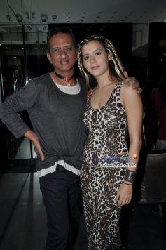 James Ferriera with Isha Sherwani